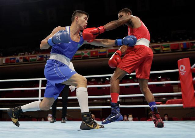 Абылайхан Жусупов на Олимпиаде