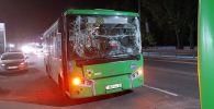 ДТП с участием двух автобусов
