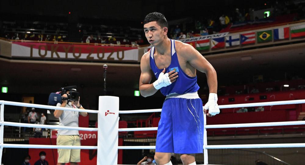 Абылхан Аманкул на Олимпиале