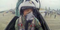 Ардана Ботай, единственная летчица-истребитель в Казахстане