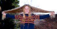 Берти Пилкингтон отрастил волосы до пояса, чтобы пожертвовать их на парики для онкобольных детей
