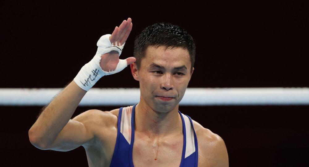 Сакен Бибосынов вышел в полуфинал на Олимпиаде