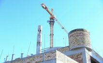 Мечеть, которую строит Узбекистан в Туркестане