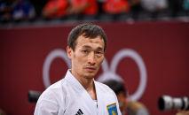 Каратист Дархан Асадилов на Олимпиаде