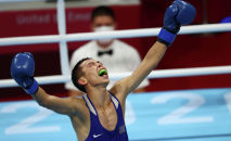 Сакен Бибосынов в полуфинале Олимпиады