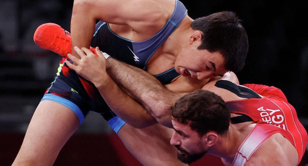 Данияр Кайсанов на Олимпиаде