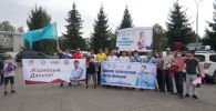 Казахстанских олимпийцев встретили в аэропорту Алматы