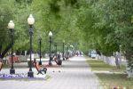 Улица Конституции в Петропавловске