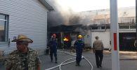 Пожар на СТО: была угроза взрыва