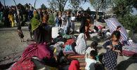 Афганские беженцы из провинций Кундуз и Тахар