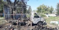Трое детей сожгли дотла ГАЗель