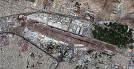 Спутниковый снимок аэропорта Кабула