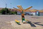 В населенном пункте Кошкарата Байдибекского района,Туркестанской области установлена информационно-познавательная электронная новинка Умный Подсолнух