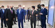 Рабочий визит премьер-министра РФ М. Мишустина в Нур-Султан (Республика Казахстан)