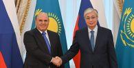 Тоқаев Ресей премьер-министрімен кездесті