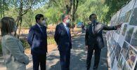 Касым-Жомарт Токаев находится с рабочей поездкой в Алматы