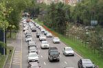 Автомобили на дорогах Алматы