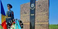 На Шерпенском плацдарме открыли памятник воинам-казахстанцам