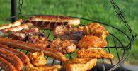 Мясо на гриле, иллюстративное фото