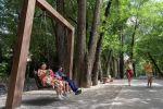 Терренкур – это пешеходная дорога вдоль реки Малая Алматинка протяженностью 4,5 километра