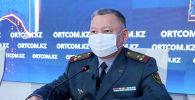 Начальник департамента организационно-мобилизационной работы Генерального штаба Вооруженных сил Сакен Жусупов