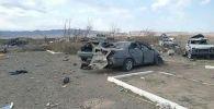Последствия взрывов на территории воинской части, в которой произошло ЧП
