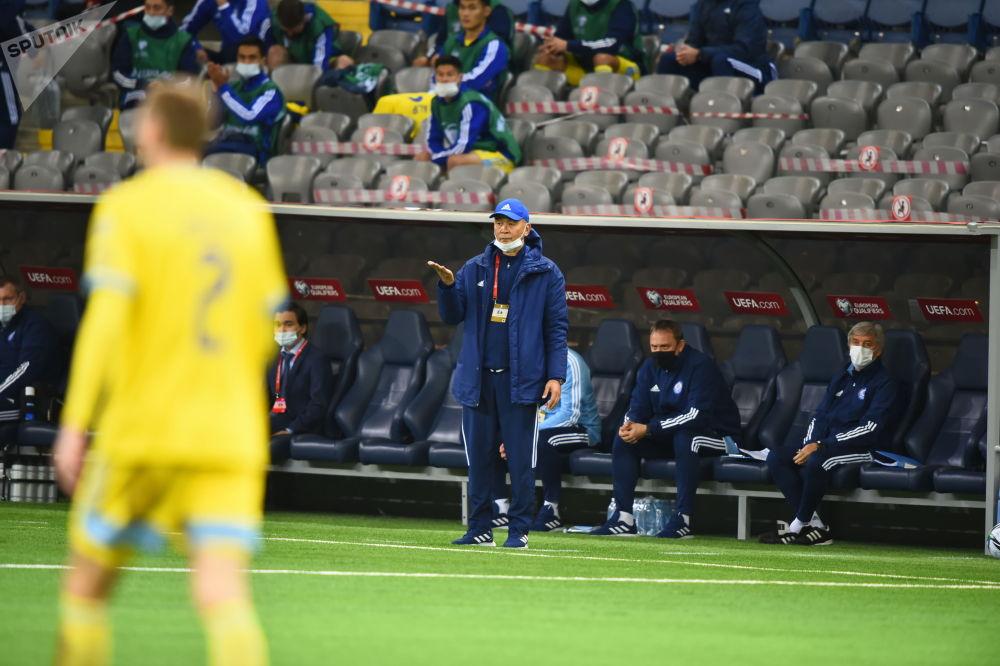 Тренер сборной Казахстана Талгат Байсуфинов