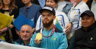 В Кокшетау чествуют чемпиона параолимпиады Давида Дегтярева