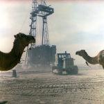 Буровая установка на Мангышлакском месторождении нефти