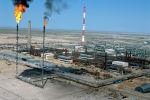 Нефтеперегонный завод на Тенгизе