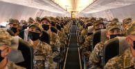 Проверка боеготовности армии Казахстана