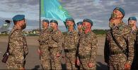 Военные из Казахстана прибыли в Беларусь на учения Запад-2021