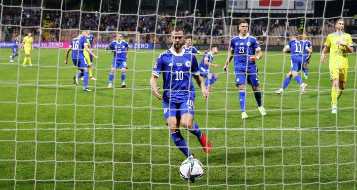 Футбол - Чемпионат мира - Отборочные матчи УЕФА - Группа D - Босния и Герцеговина - Казахстан