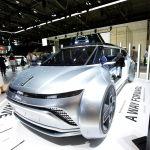 Концепция автомобиль WEY Inest версия 2.0 по китайскому автопроизводителю Great Wall Motor s на дисплее во время Мюнхенской Auto Show , IAA Mobility 2021, в Мюнхене , Германия, 7 сентября 2021 г. REUTERS / Michaela Rehle