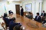 Премьер -министр Асқар Мамин жаңа энергетика министрі Мағзұм Мирзағалиевті таныстырды