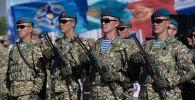 Военные учения ОДКБ Рубеж-2021 в Кыргызстане
