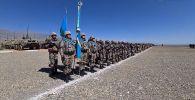 В Кыргызстане прошли учения ОДКБ Рубеж-2021