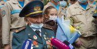 Один из последних солдат Панфиловской дивизии отпраздновал юбилей