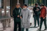 Жители столицы на улицах города