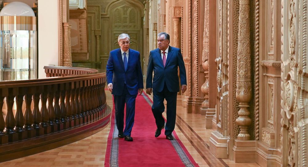 Президент Казахстана Касым-Жомарт Токаев встретился с Президентом Таджикистана Эмомали Рахмоном
