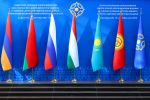 Флаги стран-участниц ОДКБ