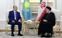 Встреча Касым-Жомарта Токаева с президентом Ирана Ибрахимом Раиси