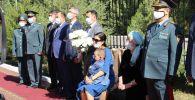 В Таразе почтили память погибшего при взрывах военного прокурора