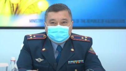 Заместитель начальника Департамента по противодействию экстремизму МВД Казахстана Дархан Разуев