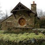 Вид на дом хоббита