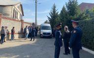 Погибшего полицейского Дархана Сулеева похоронили в Алматы