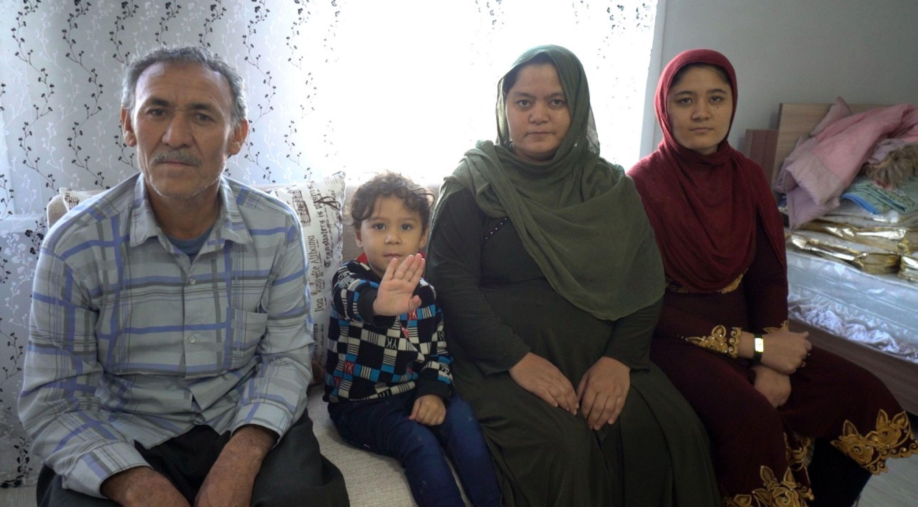 Шир Али Озбаки с семьей поселились в Кокшетау
