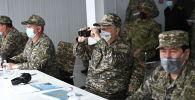 Касым-Жомарт Токаев посетил военные учения Отпантау-2021 в Мангистау