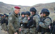 Проверка навыков командиров регионального командования Шыгыс Нацгвардии Казахстана