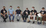Спортсмены провели пресс-конференцию по поводу смерти Альберта Линдера